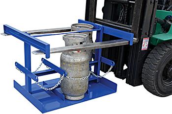 Forklift Portable Cylinder Caddy