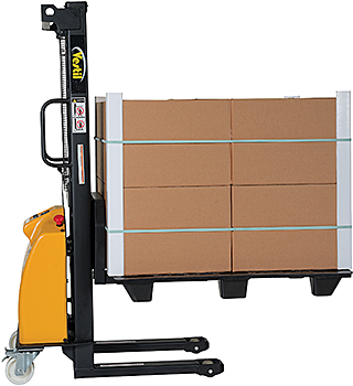 Electric Lift Pallet Stacker