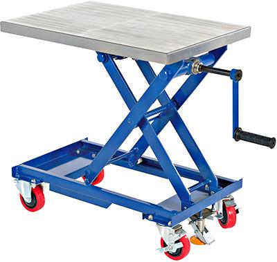 Hand Crank Lift Cart