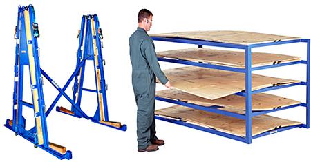 Sheet Rack & A-Frame Rack
