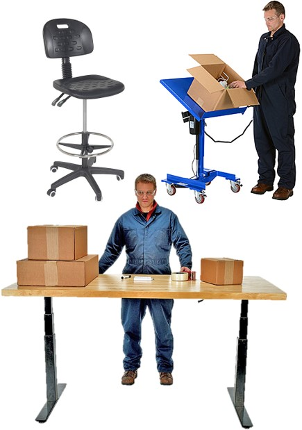 Workbenches, Work Tables, Work Chairs
