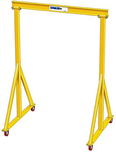 4-5 Ton Adjustable Steel Gantry Cranes   HoF Equipment Co