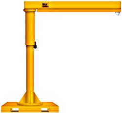 Portable Jib Cranes For Sale   HoF Equipment Co
