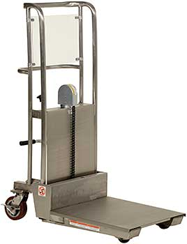 Vestil HYD-5-PSS Partially Stainless Steel Hefti-Lift