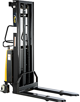 Vestil S-118-FF Pallet Stacker With Powered Drive and Lift