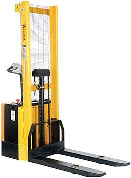 Vestil S-62-FF Electric Pallet Stacker