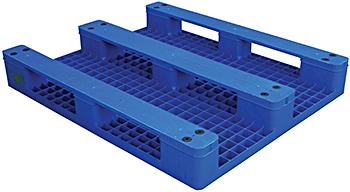 Vestil PLPS-H Solid Top Plastic Pallet / Skid