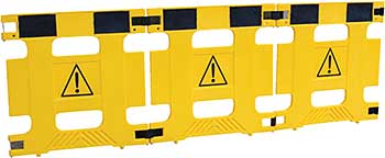 Vestil HG-3F Multi-Purpose Barricades