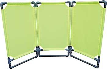 Vestil Folding Fabric Barrier