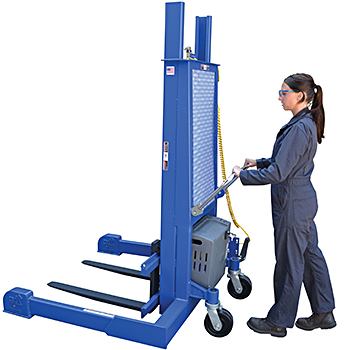 Vestil PMPS-60-DC Electric Pallet Stacker