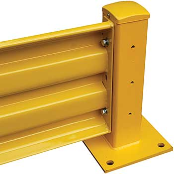 Bolt-On Warehouse Guard Rails