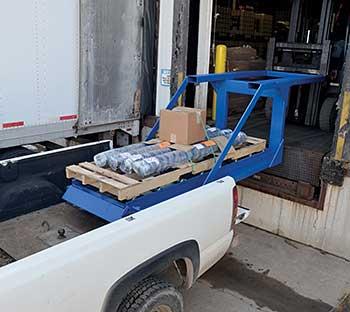 Vestil DP-3896-15 Below Dock Loader