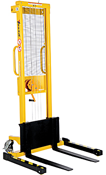 Vestil VWS-770-AA Manual Winch Pallet Stacker