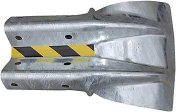 Vestil GR-H2R-TG Flared End Guard