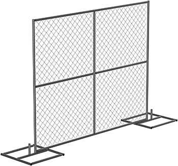 Vestil HRAIL-9072 Galvanized Construction Barrier