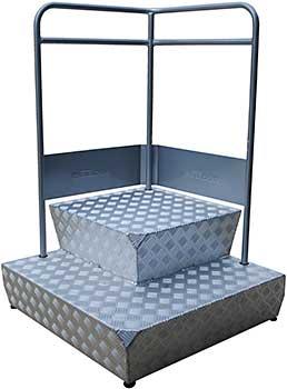 Vestil CUP-3131 Container Step Platform