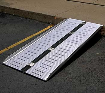 Vestil RAMP-SF Folding Aluminum Ramp