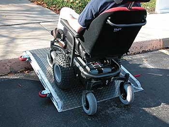 Vestil D-ROL-48 Wheelchair Roll-O-Ramp