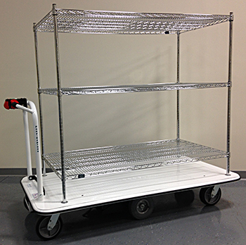 Pony Express MCS-243615-60 Electric Platform Cart