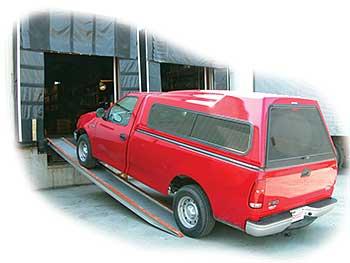 Vestil VTR-6-14-14 Aluminum Vehicle Twin Ramp