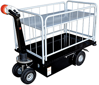 Vestil NE-CART-3 Electric Platform Truck