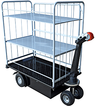 Vestil NE-CART-4 Electric Platform Truck
