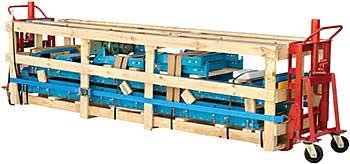 Vestil MFM-2-RAL Machinery Lift - 2,000 LBS Capacity