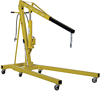 Vestil EHN-40-C-AH Air/Hand Pump Hydraulic Shop Crane