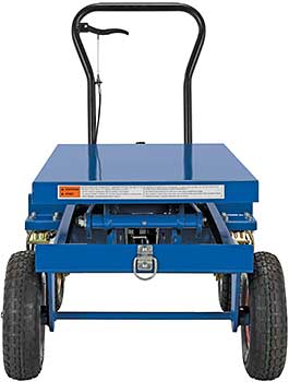 Vestil Double Scissor Rough Terrain Lift Cart