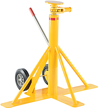 Vestil BFSJ-2748 Big Foot Trailer Jack Stand