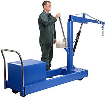 Vestil CBFC-500 Counterbalance Floor Crane