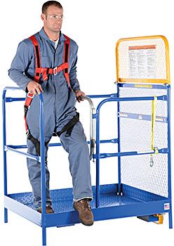 Vestil WP-3648 Forklift Work Platform