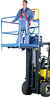 Vestil WP-4848 Forklift Work Platform