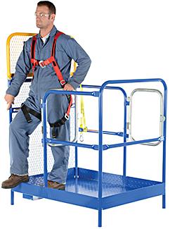 Vestil WP-4848-DD Forklift Work Platform