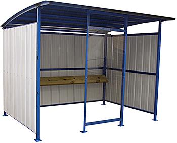 Vestil MDS-96-SM Outdoor Smoking Shelter