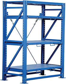 Vestil VRSOR-54 Heavy Duty Roll-Out Shelving