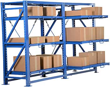 Vestil VRSOR-114 Roll-Out Shelving