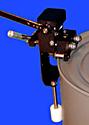 Vestil DD-EZ-M Manual Rachet Style Drum Deheader