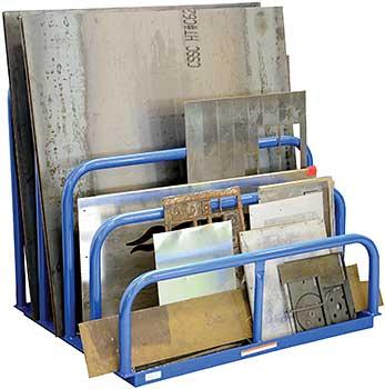 Vestil VHSR-4 4-Bay Sheet Rack