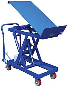 Vestil CART-500-LT Lift and Tilt Cart