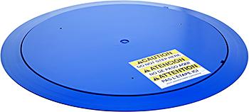Vestil LP-4000T-45 Thin Spin Carousel