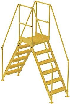 Vestil COL-6-56-14 Cross-Over Ladder