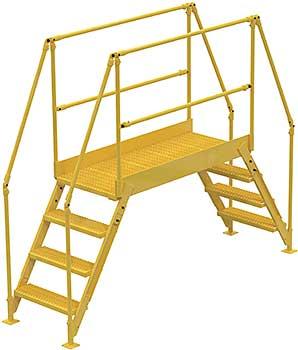 Vestil COL-6-56-44 Cross-Over Ladder