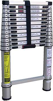 Vestil TLAD-12 Aluminum Telescoping Ladder