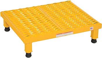 Vestil AHW-L-1924 Serrated Deck Adjustable Work-Mate Stand