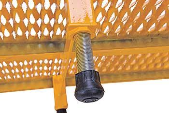 Vestil AHW-L-2472 Serrated Deck Adjustable Work-Mate Stand
