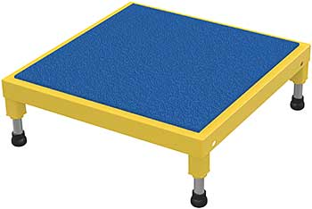 Vestil AHT-2424 Ergo Matting Adjustable Work-Mate Stand