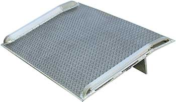 Vestil BTA-05006048 Aluminum Dock Plate With Curbs