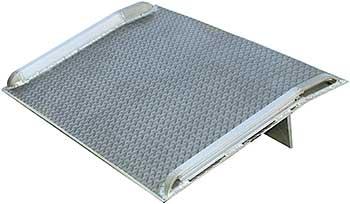 Vestil BTA-10006048 Aluminum Dock Plate With Curbs