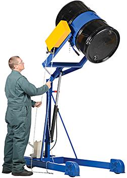 Vestil HDC-305-72 Drum Lifter / Drum Rotator